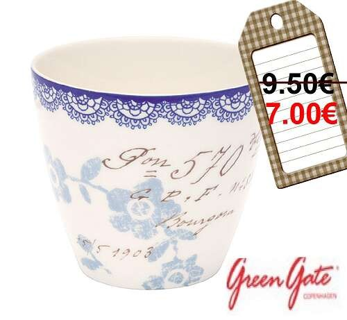 cup late fay white,greengate pas chere,green gate soldes,